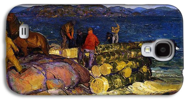 Dock Builders Galaxy S4 Case by George Wesley Bellows