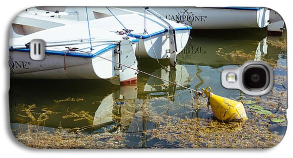 Docked Sailboats Galaxy S4 Case by Pati Photography