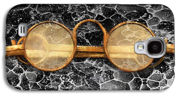 Doctor - Optometrist - Glasses Sold Here  Galaxy S4 Case by Mike Savad