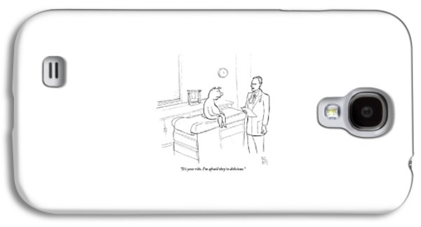 Doctor To Pig Galaxy S4 Case by Paul Noth