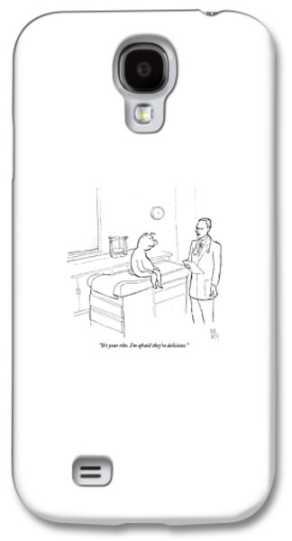 Pig Galaxy S4 Case - Doctor To Pig by Paul Noth