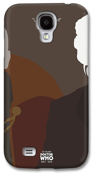 Doctor Who 50th Anniversary Poster Set Eighth Doctor Galaxy S4 Case by Jeff Bell
