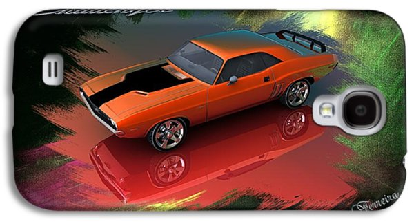 Dodge Challenger Galaxy S4 Case by Louis Ferreira