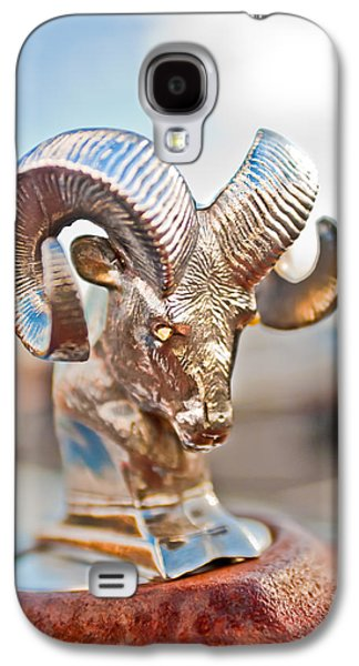 Dodge Ram Hood Ornament 3 Galaxy S4 Case by Jill Reger