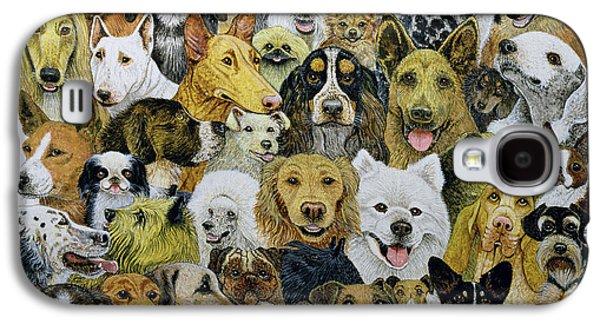 Dog Friends  Galaxy S4 Case by Pat Scott