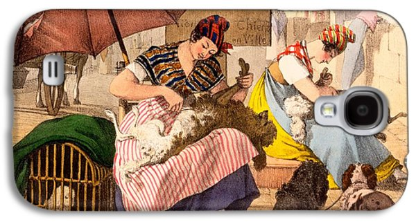 Dog Groomers, 1820 Galaxy S4 Case by French School