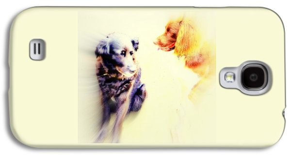 If You Are Dreaming Of A Dog Romance Dream Again  Galaxy S4 Case by Hilde Widerberg