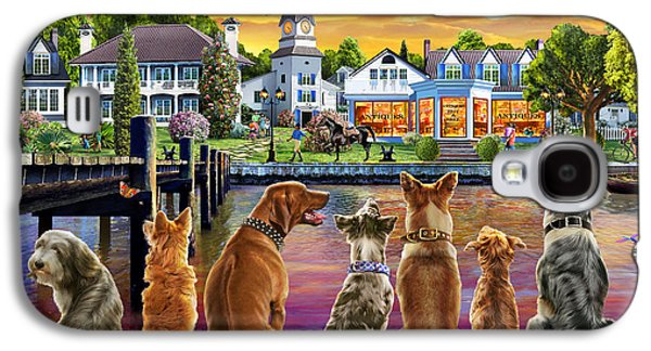 Dogs On The Quay Galaxy S4 Case