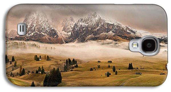 Autumn Landscape Galaxy S4 Case - Dolomites Myths by Marian Kuric