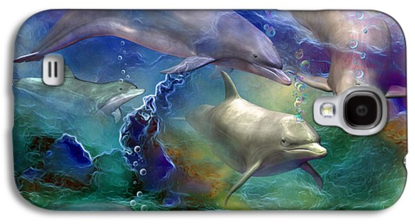 Dolphin Dream Galaxy S4 Case