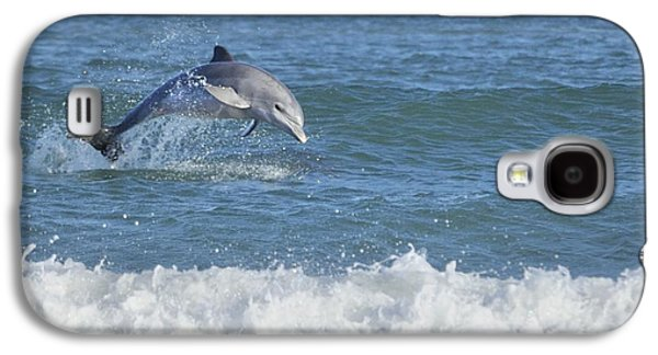 Dolphin In Surf Galaxy S4 Case
