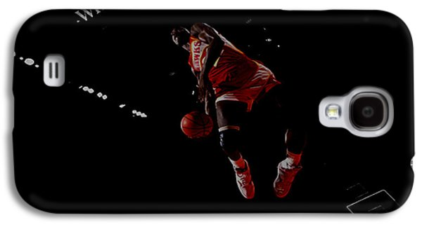 Dominique Wilkins Took Flight Galaxy S4 Case by Brian Reaves