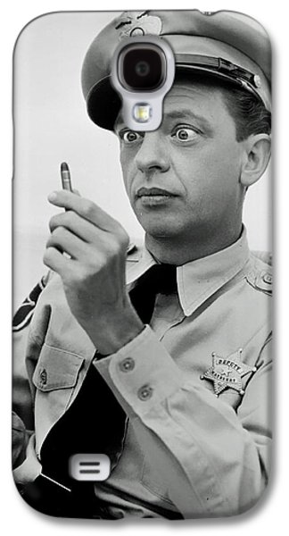 Barney Fife - Don Knotts Galaxy S4 Case by Mountain Dreams