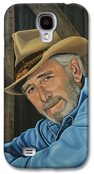 Don Williams Painting Galaxy S4 Case