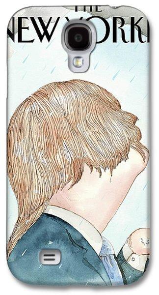 Donald's Rainy Days Galaxy S4 Case by Barry Blit