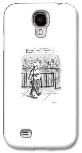 Donna Karan's Nightmare Galaxy S4 Case