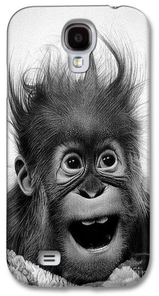 Don't Panic Galaxy S4 Case by Miro Gradinscak