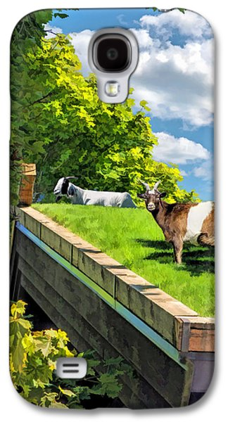 Door County Al Johnsons Swedish Restaurant Goats Galaxy S4 Case by Christopher Arndt
