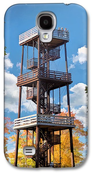 Door County Eagle Tower Peninsula State Park Galaxy S4 Case by Christopher Arndt