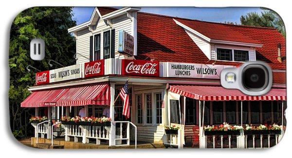 Door County Wilson's Ice Cream Store Galaxy S4 Case by Christopher Arndt