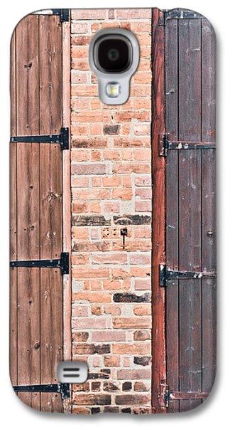 Door Hinges Galaxy S4 Case by Tom Gowanlock