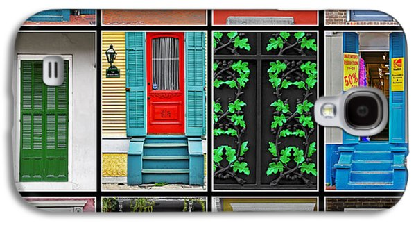 Doors New Orleans Galaxy S4 Case by Christine Till