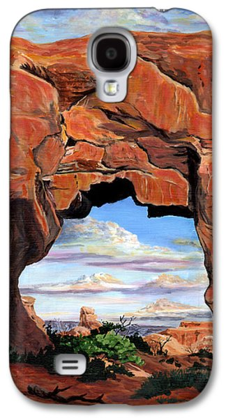Doorway To Enchantment Galaxy S4 Case by Timithy L Gordon