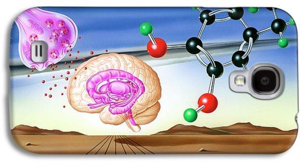 Dopamine Brain Chemistry Galaxy S4 Case