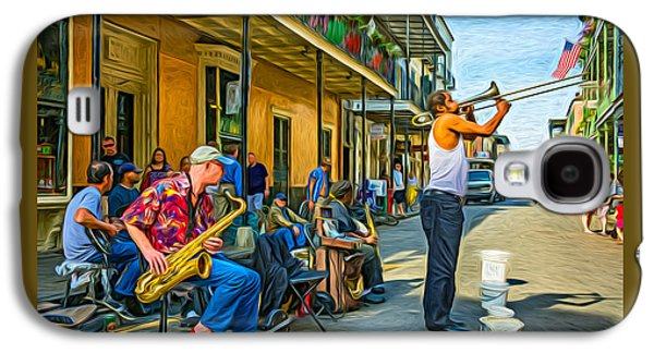 Doreen's Jazz New Orleans - Paint Galaxy S4 Case by Steve Harrington