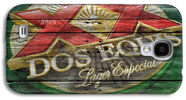Dos Equis Galaxy S4 Case by Joe Hamilton
