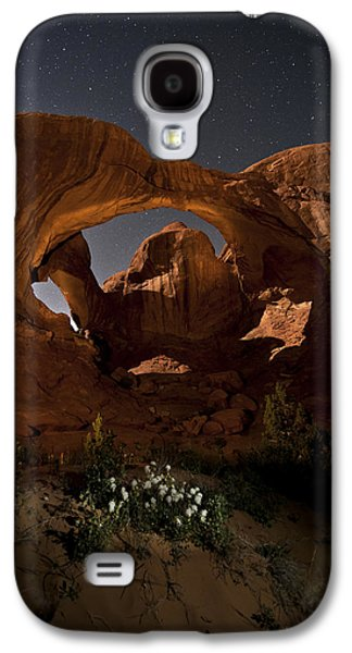 Double Arch In The Moonlight Galaxy S4 Case
