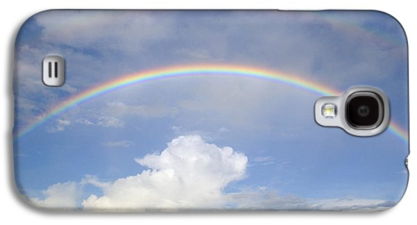 Double Rainbow At Sea Galaxy S4 Case