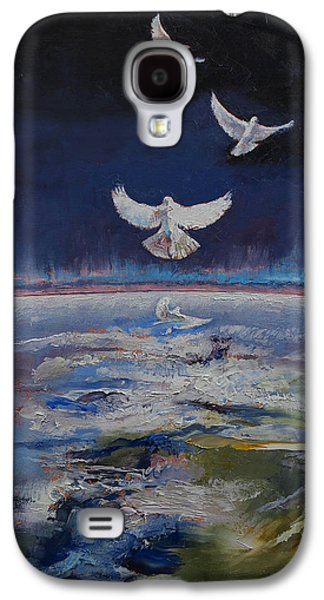 Doves Galaxy S4 Case by Michael Creese