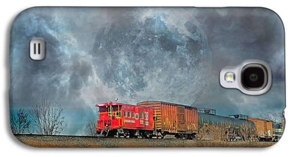 Down The Line Galaxy S4 Case by Betsy Knapp