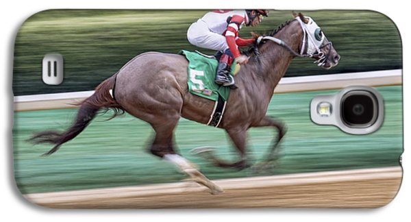 Down The Stretch - Horse Racing - Jockey Galaxy S4 Case
