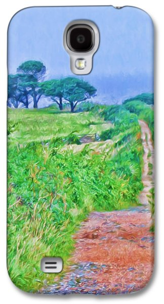 Down To The Sea Herm Island Galaxy S4 Case