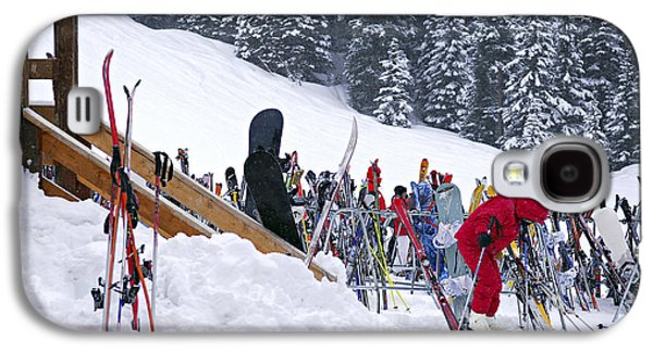 Downhill Skiing Galaxy S4 Case by Elena Elisseeva