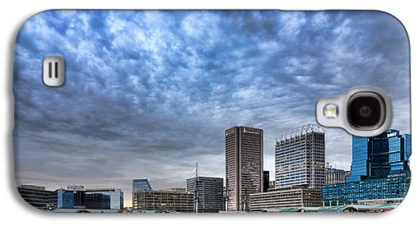 Downtown Baltimore Galaxy S4 Case by Olivier Le Queinec