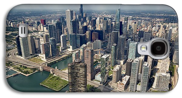 Downtown Chicago Aerial Galaxy S4 Case