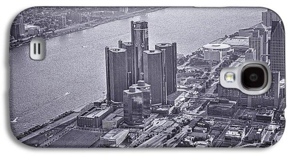 Downtown Detroit Galaxy S4 Case by Nicholas  Grunas