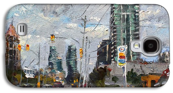 Downtown Mississauga On Galaxy S4 Case