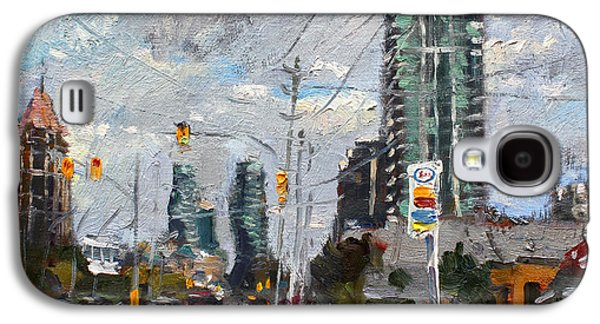 Downtown Galaxy S4 Case - Downtown Mississauga On by Ylli Haruni