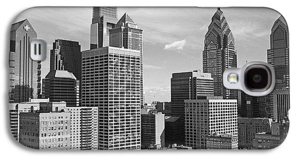 Downtown Philadelphia Galaxy S4 Case by Rona Black