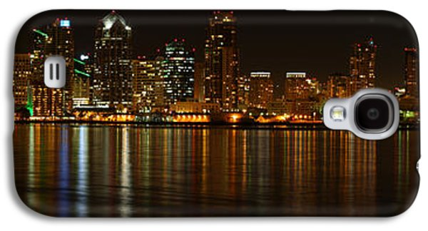 Downtown San Diego At Night From Harbor Drive Galaxy S4 Case