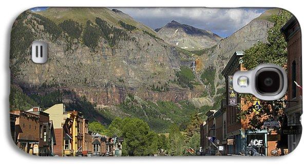 Downtown Telluride Colorado Galaxy S4 Case by Mike McGlothlen