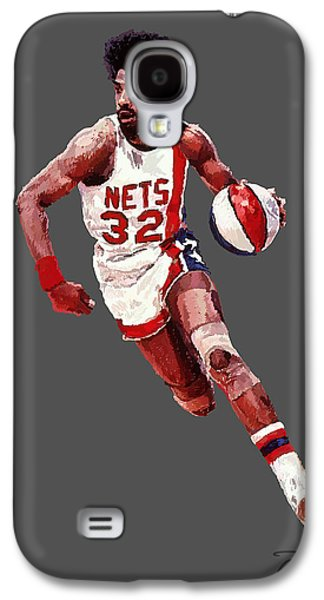 Dr. J Galaxy S4 Case by Charley Pallos