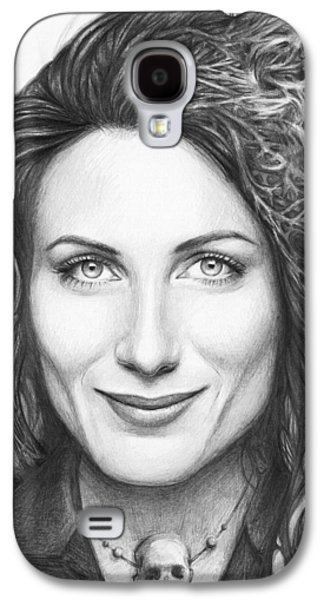 Dr. Lisa Cuddy - House Md Galaxy S4 Case by Olga Shvartsur