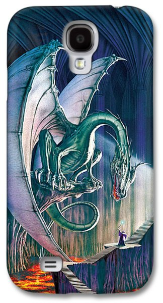Wizard Photographs Galaxy S4 Cases - Dragon Lair With Stairs Galaxy S4 Case by The Dragon Chronicles - Robin Ko