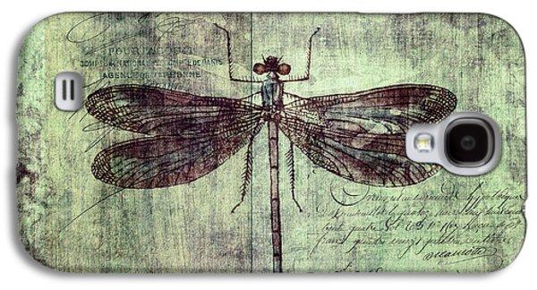Dragonfly Galaxy S4 Case by Priska Wettstein