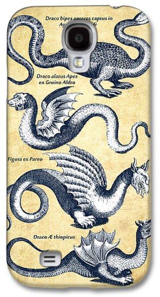 Dragons - Historiae Naturalis  - 1657 - Vintage Galaxy S4 Case